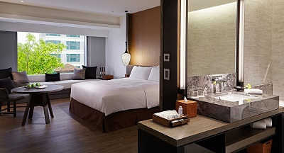 台南晶英酒店 海東客房Deluxe Room at Silks Place Tainan